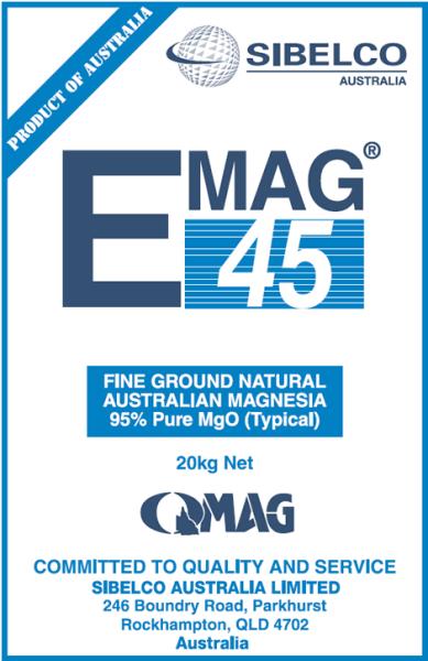 Magnesium Oxide 45 (Emag 45)