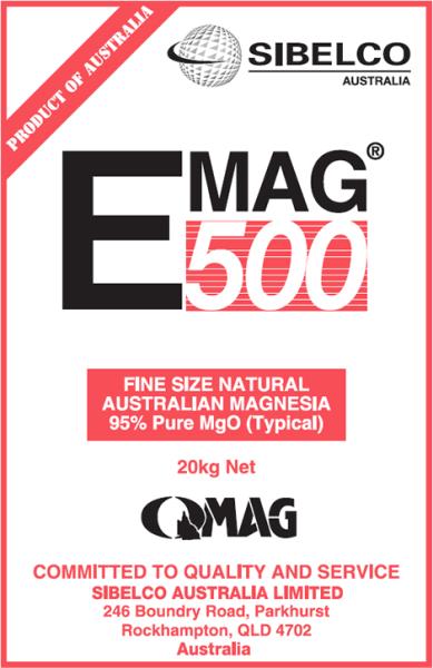 Magnesium Oxide 500 (Emag 500)