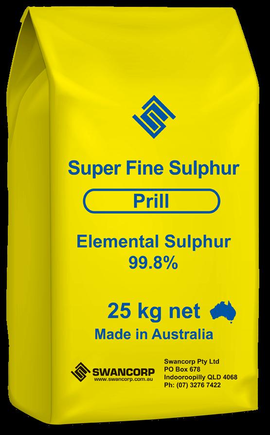 Sulphur - Super Fine Prill   Swancorp