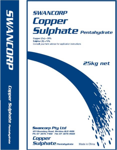 Copper Sulphate Pentahydrate 25% 1